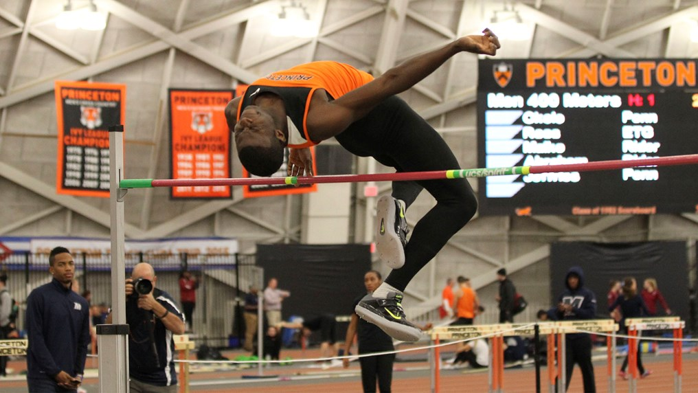 Princeton Sinks Navy in Dual Track Meet, 105-75